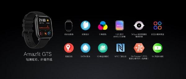 Xiaomi, Huami Amazfit GTS'yi piyasaya sürdü: a Apple Watch İki hafta tutan 4 kişi! 10