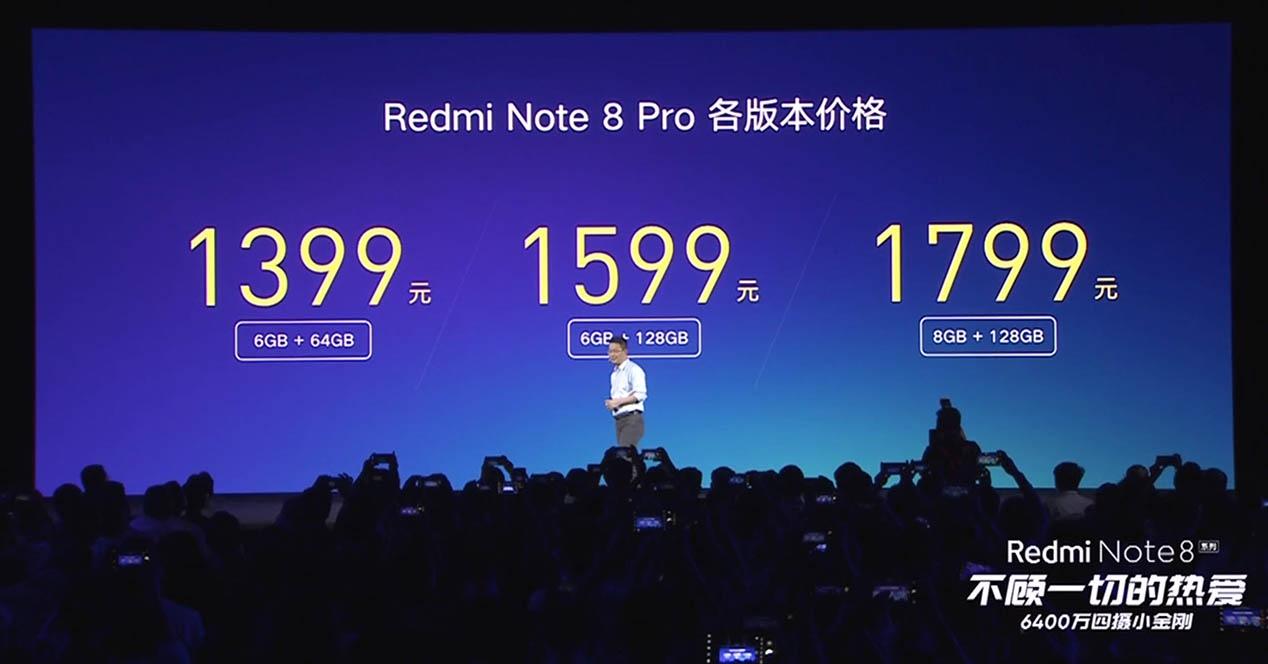Redmi fiyatları Note 8