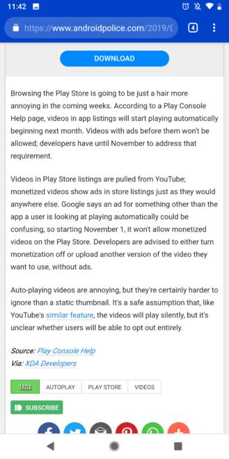 Android Polisi şimdi Google AMP'yi destekliyor ve AMP'den nefret etseniz bile seveceksiniz 2