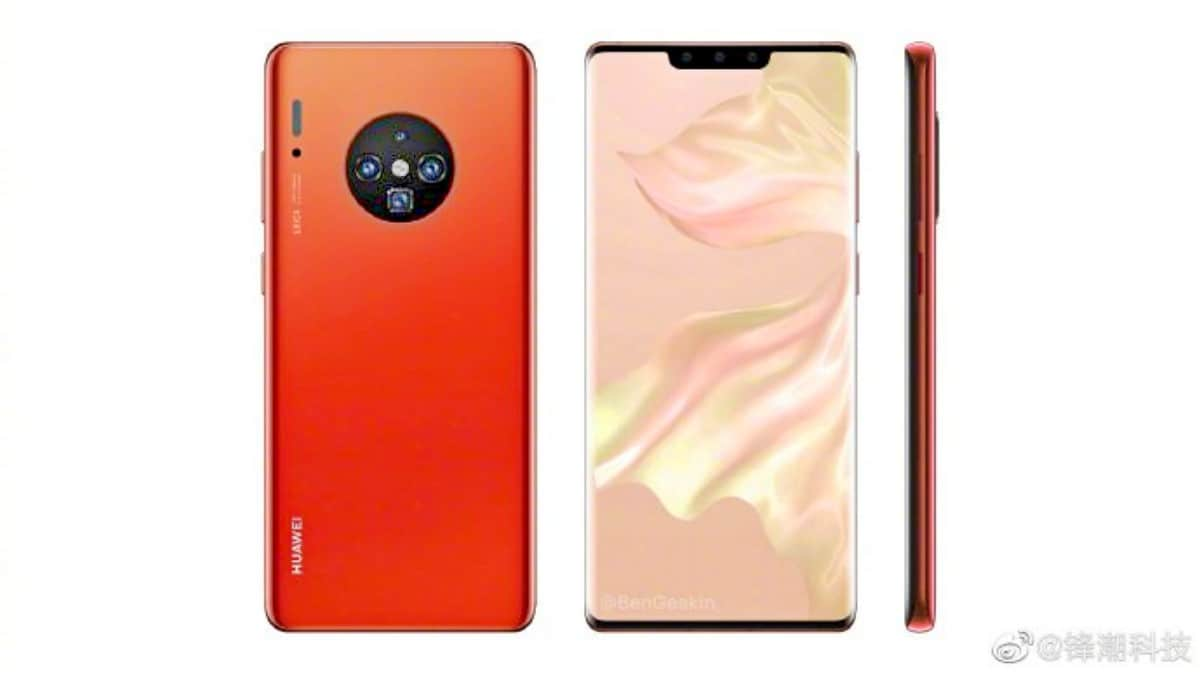 huawei mate30pro yapmak weibo Huawei Mate 30 Pro