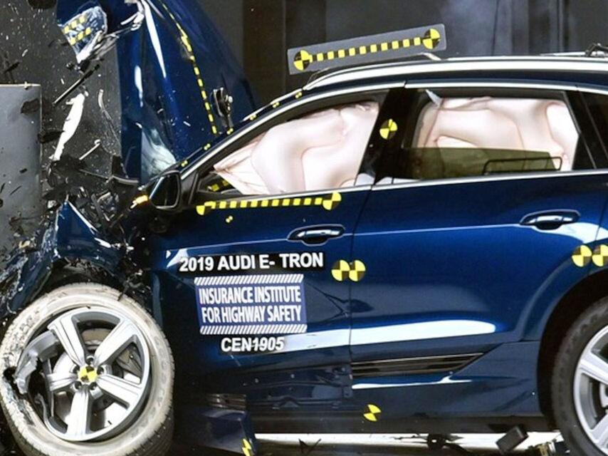 ABD'nin en yüksek otoritesine göre en güvenli elektrikli otomobil Audi'den. 1
