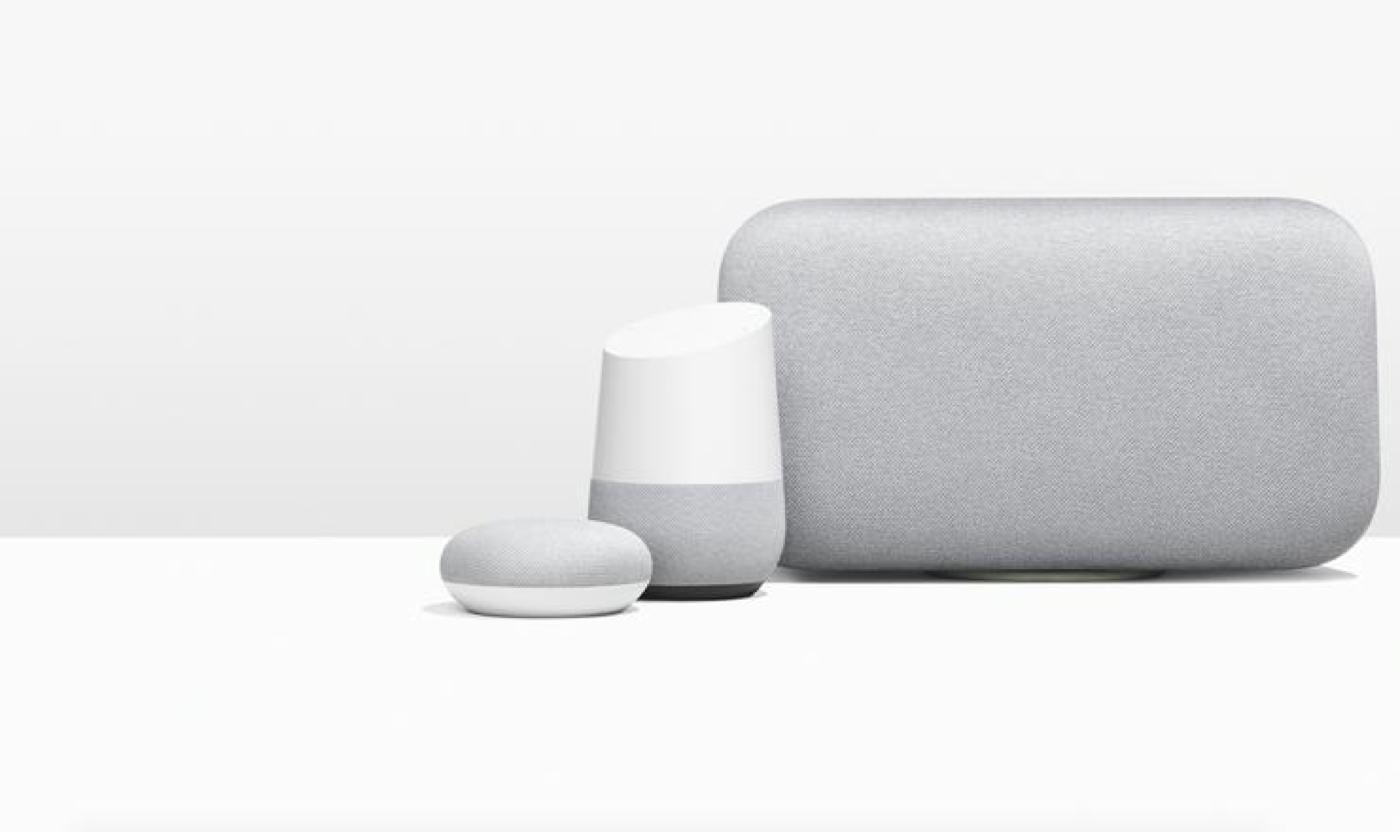 google ev akıllı hoparlörler