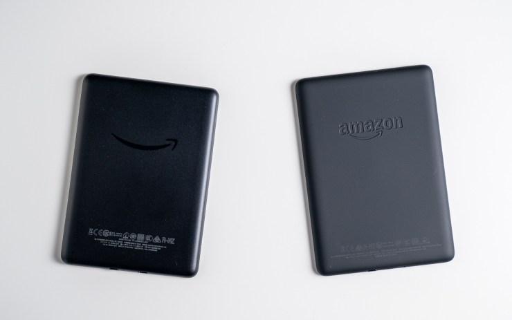 Amazon Kindle  vs Paperwhite Tasarım