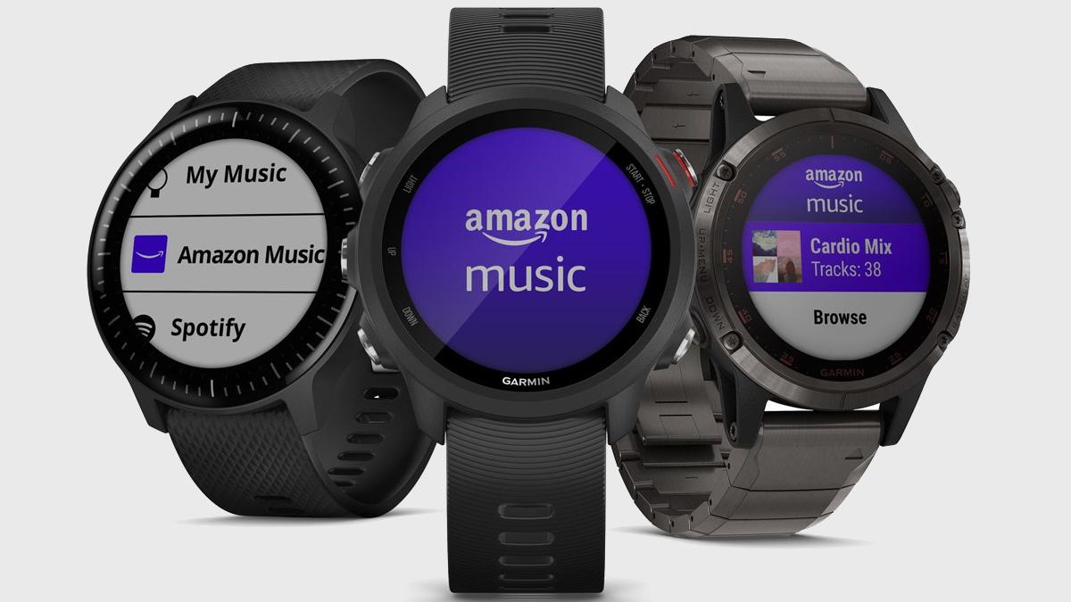 Amazon Müzik ilk smartwatch uygulamasını Garmin cihazlarında yayınladı 1