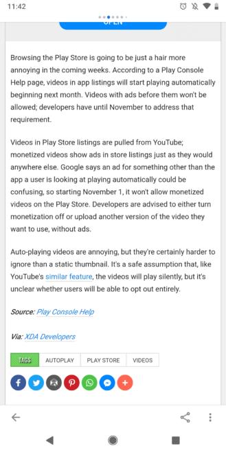 Android Polisi şimdi Google AMP'yi destekliyor ve AMP'den nefret etseniz bile seveceksiniz 1
