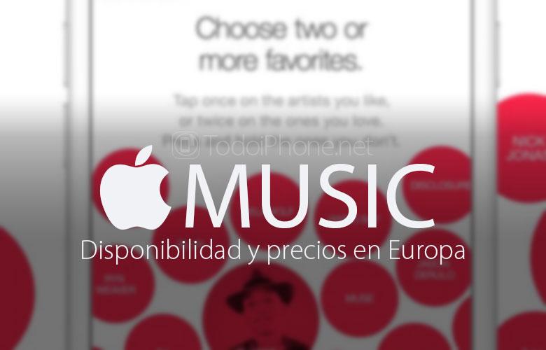Apple Müzik: Avrupa'da fiyatlar ve bulunabilirlik 1