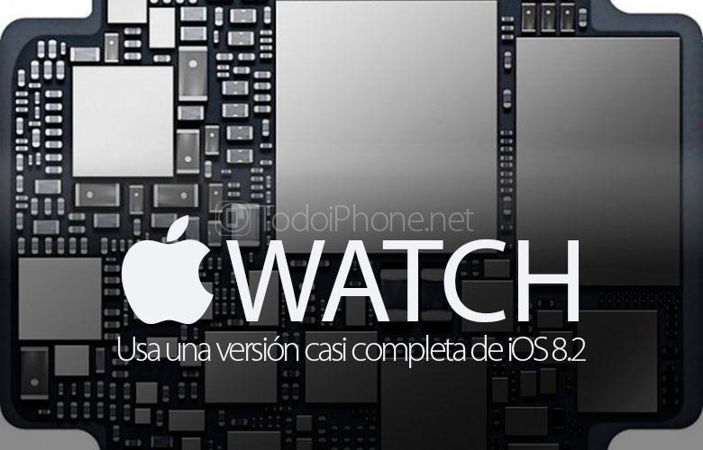 Apple Watch iOS 8.2'nin neredeyse eksiksiz bir sürümünü ekleyin 1