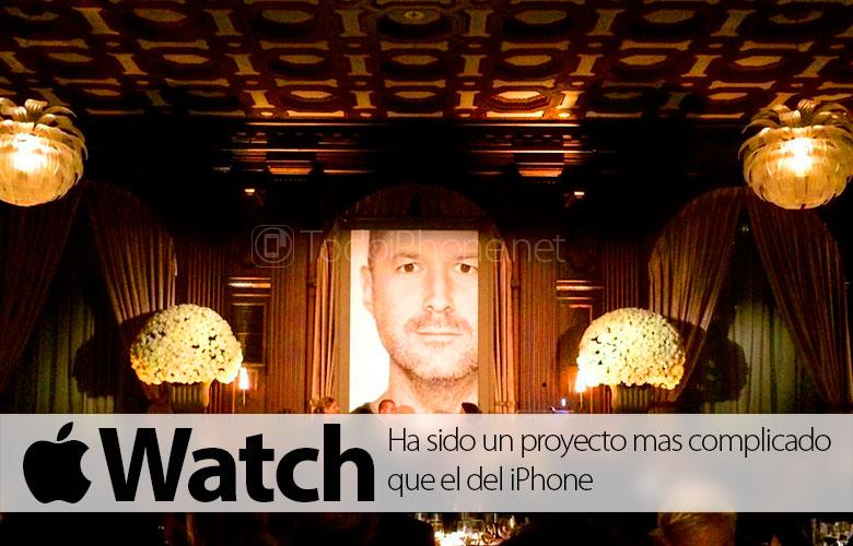 Apple Watch, proje iPhone'dan daha zor oldu 1