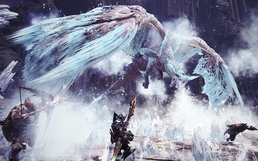canavar avcısı dünya iceborne