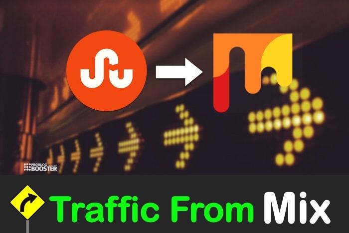 Blogunuza Trafik Çekmek için Mix kullanın