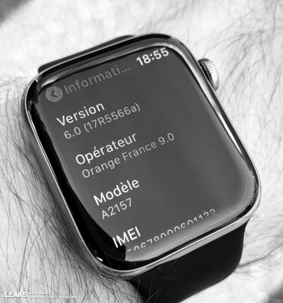 Bu bizim ilk bakış açımız mı? Apple Watch Seri 5 mi? 1