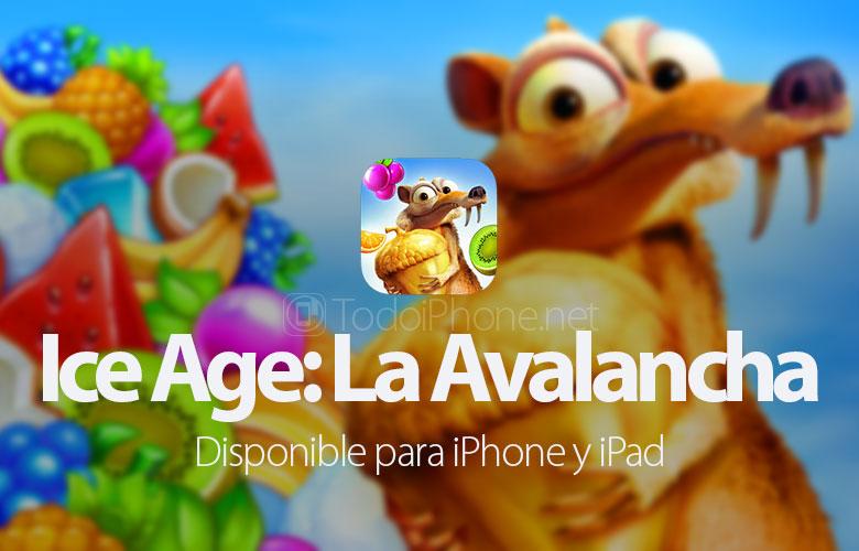 Buz Devri: Çığ iPhone ve iPad'e geliyor 1