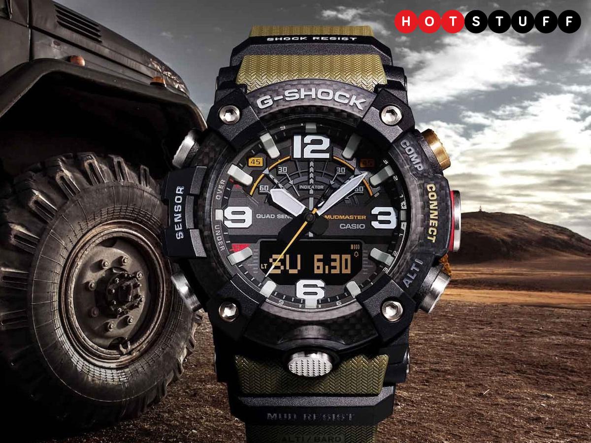 Casio'nun çamurlu G-Shock smartwatch'ı saçma sapan 1