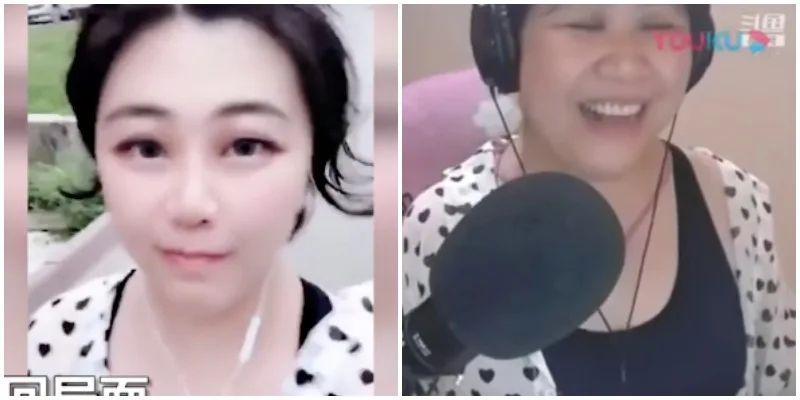 Çinli Video Blogger Yüz Filtresi Arızasından Sonra Orta Yaşlı Kadın Olduğunu Açıkladı 1