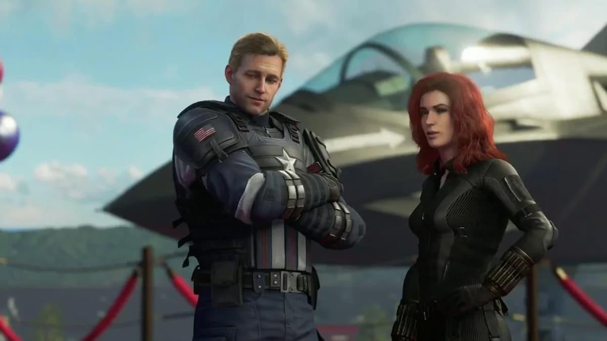 Daha yakından bakmak Marvel'Nin Avenger'ı Comic-con 2019'da 1