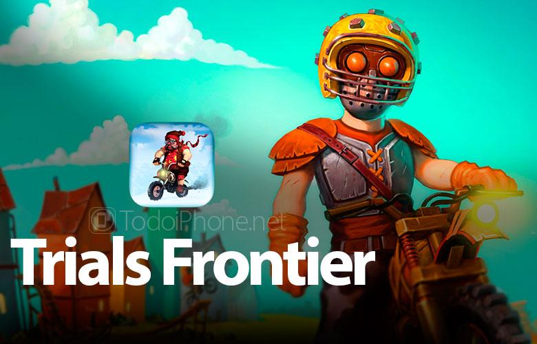 Denemeler Frontier iPhone ve iPad için eğlenceli bir motosiklet oyunu 1