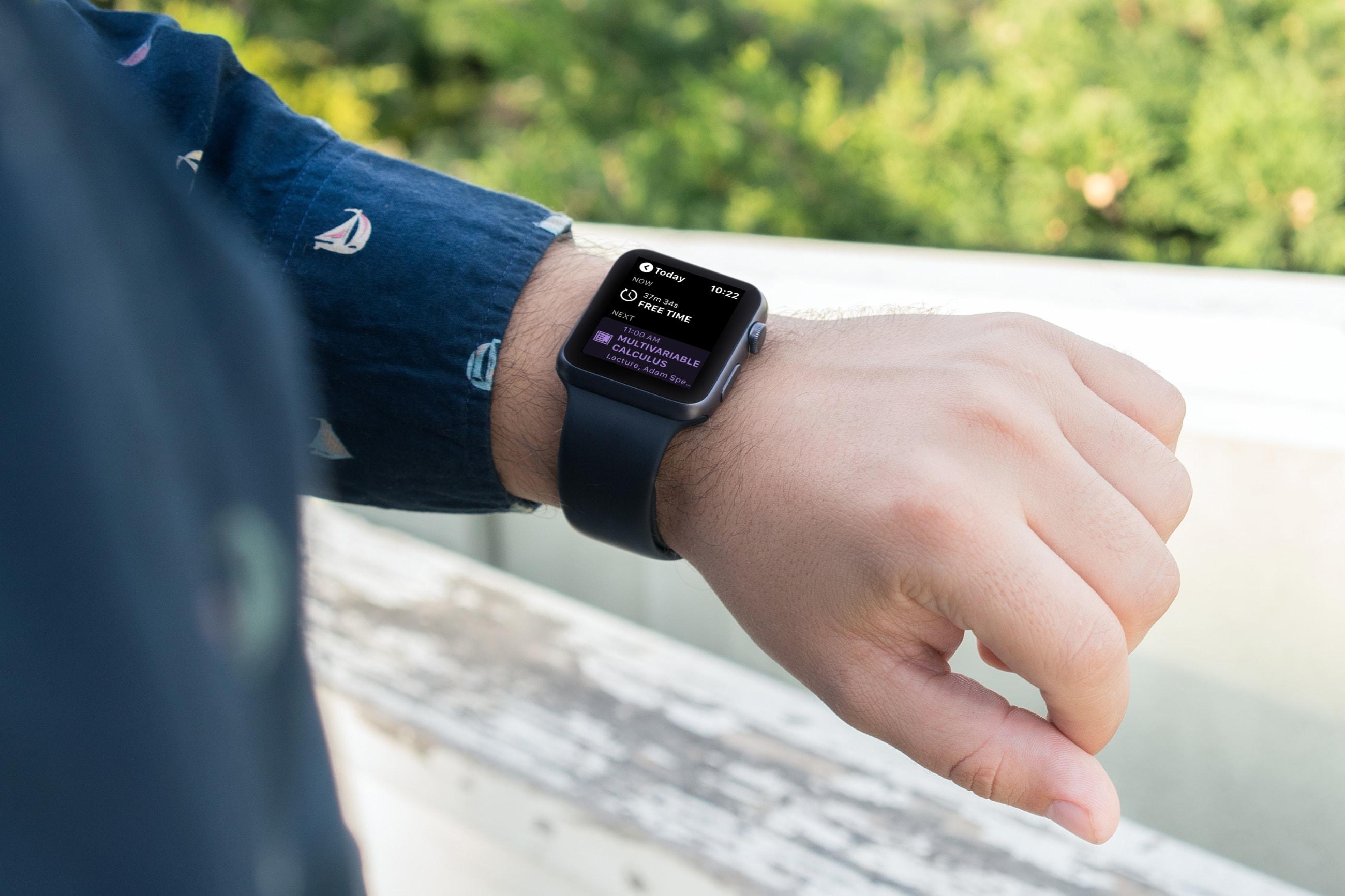 Apple Watch  Öğrenci Planlaması için Uygulamalar