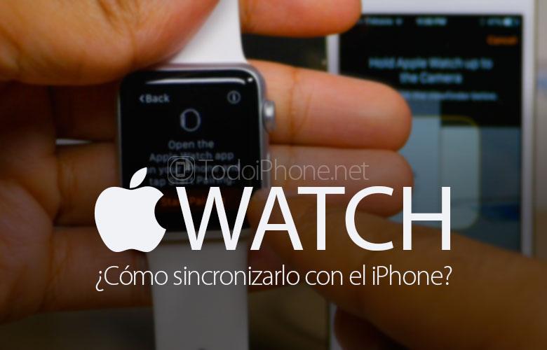 Eşitleme nasıl yapılır Apple Watch iPhone'umla mı? 1