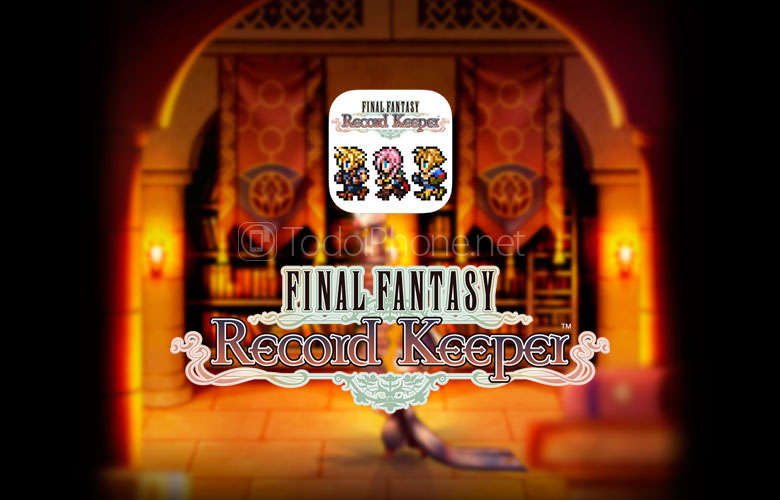 FINAL FANTASY Record Keeper App Store'da mevcut 1
