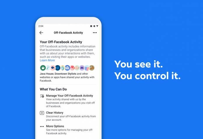 Facebook şimdi görüntülemenizi (ve silmenizi sağlar)Facebook Aktivite 1