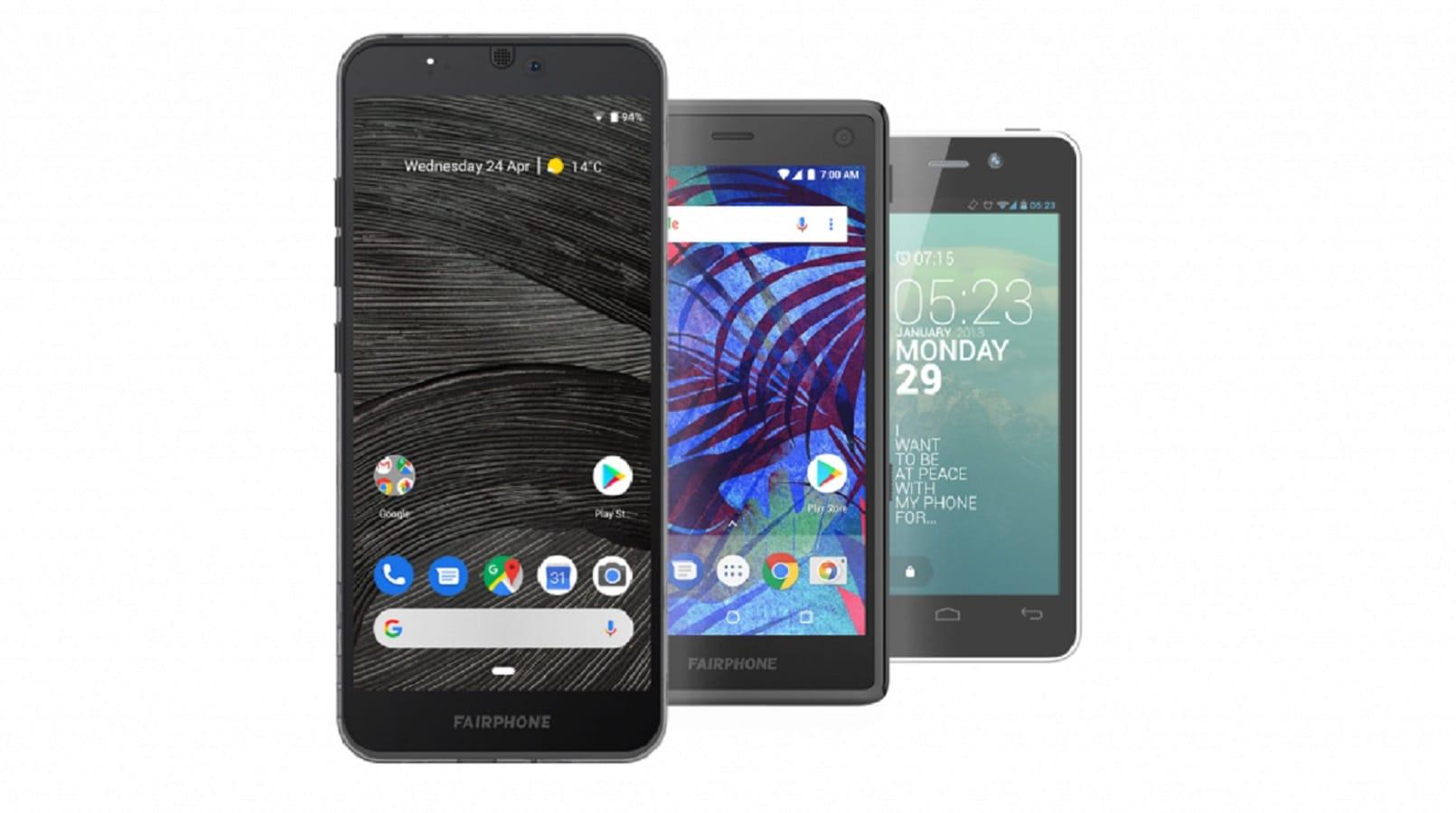 fairphone 3 akıllı telefon