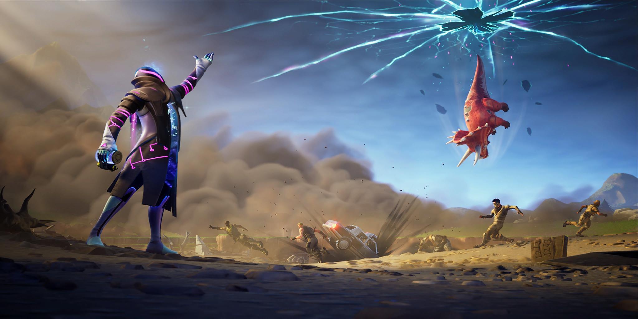 Yeni 'Junk Rift' öğesi yakında Fortnite Savaş Royale 1