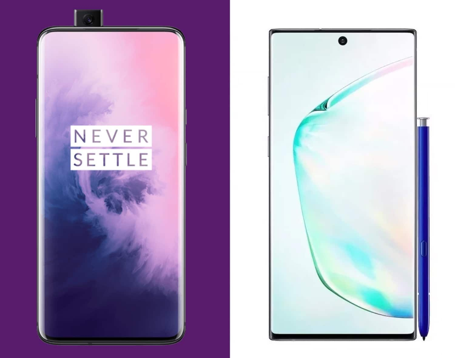 galaxy not 10 artı vs oneplus 7 pro
