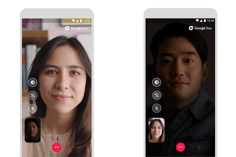 Google Duo'nun Düşük Işık Modu, Karanlıkta Görüntülü Arama Yapmanıza İzin Verecek 1