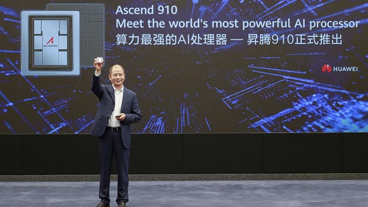 Huawei, Ascend 910 çipini ve bilgi işlem altyapısını başlattı 1
