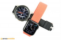 Apple Watch  Seri 4 vs Samsung Galaxy İzle   (c) Alan mobil cihazı