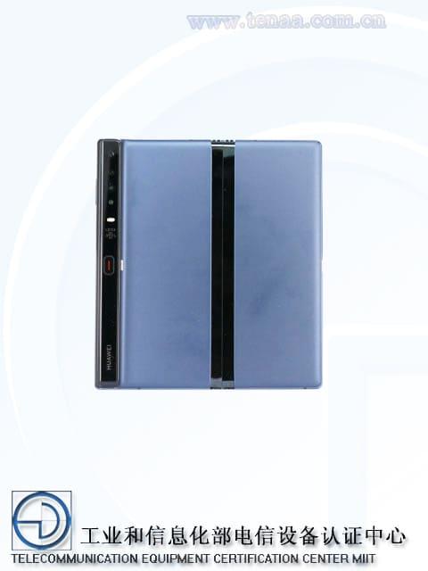 Huawei Mate X tırmanışını yeniden başlattı: burada yine küçük değişiklikler ile TENAA'dan geçiyor (fotoğraf). 1