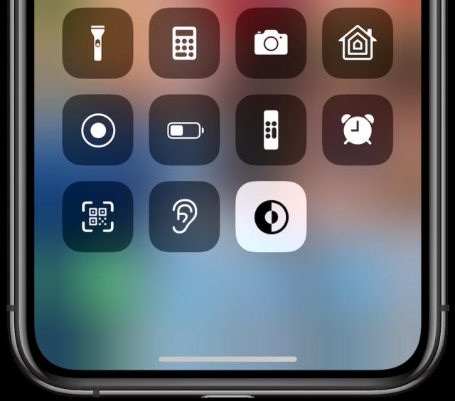 karanlık mod düğmesi iOS 13