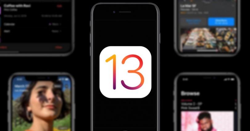 iOS 13 yakalar