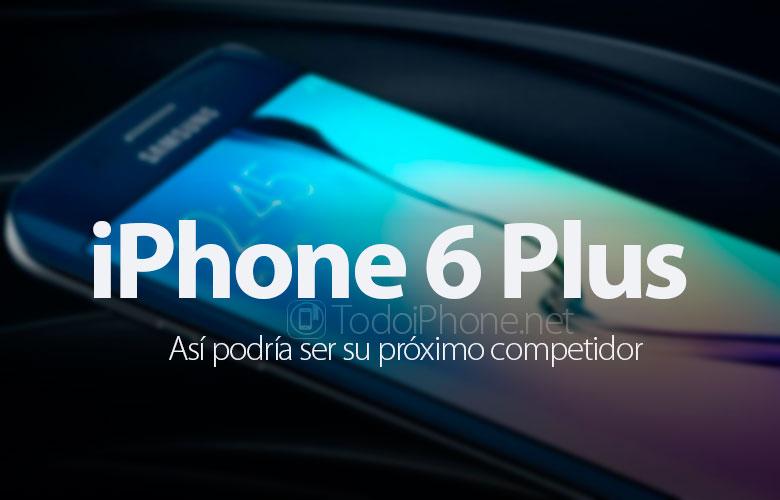 İPhone 6 Plus'ın rakiplerinin ilk görüntüsü 1