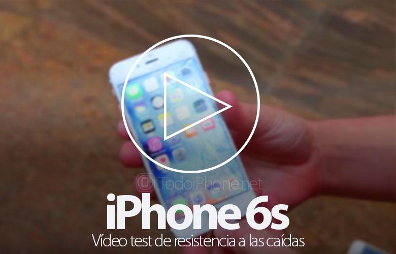 IPhone 6s düşüş direnci video testi 1