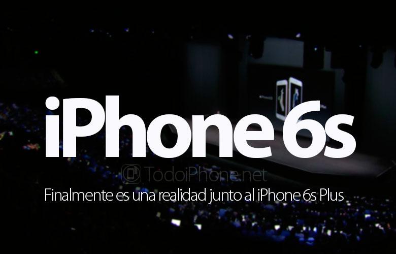 İPhone 6s ve iPhone 6s Plus bir gerçekliktir (3D Touch ve daha fazlası) 1