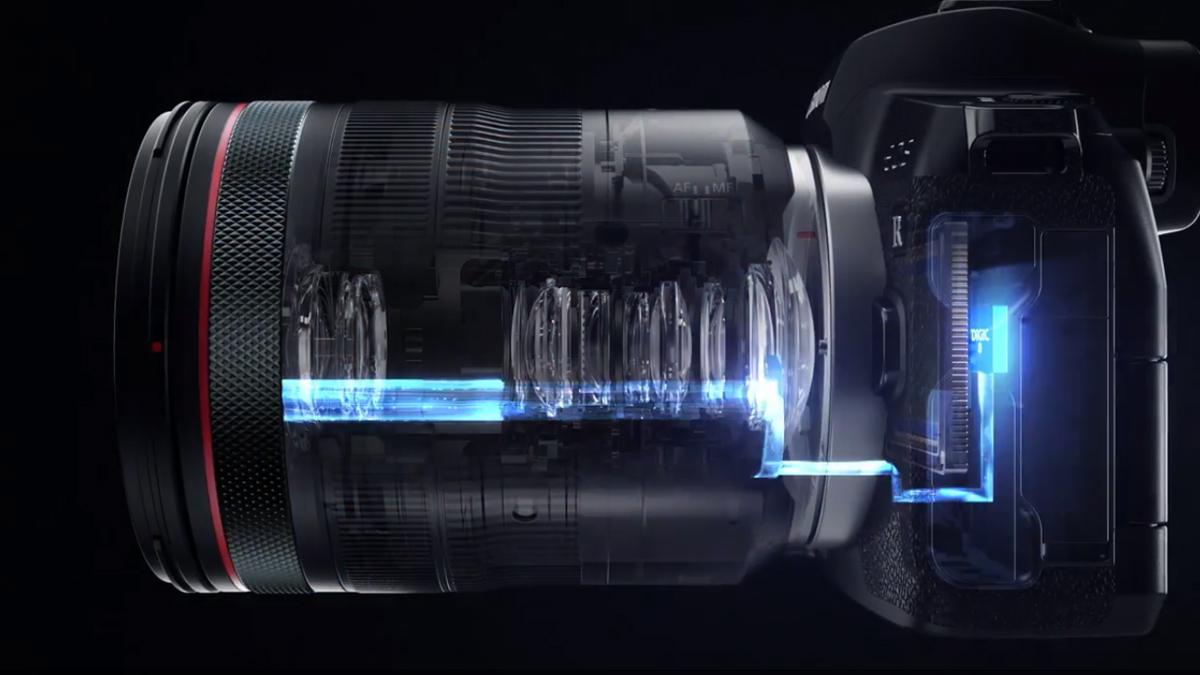 Kamera olmadan göz kontrollü odaklama için Canon patentleri 1