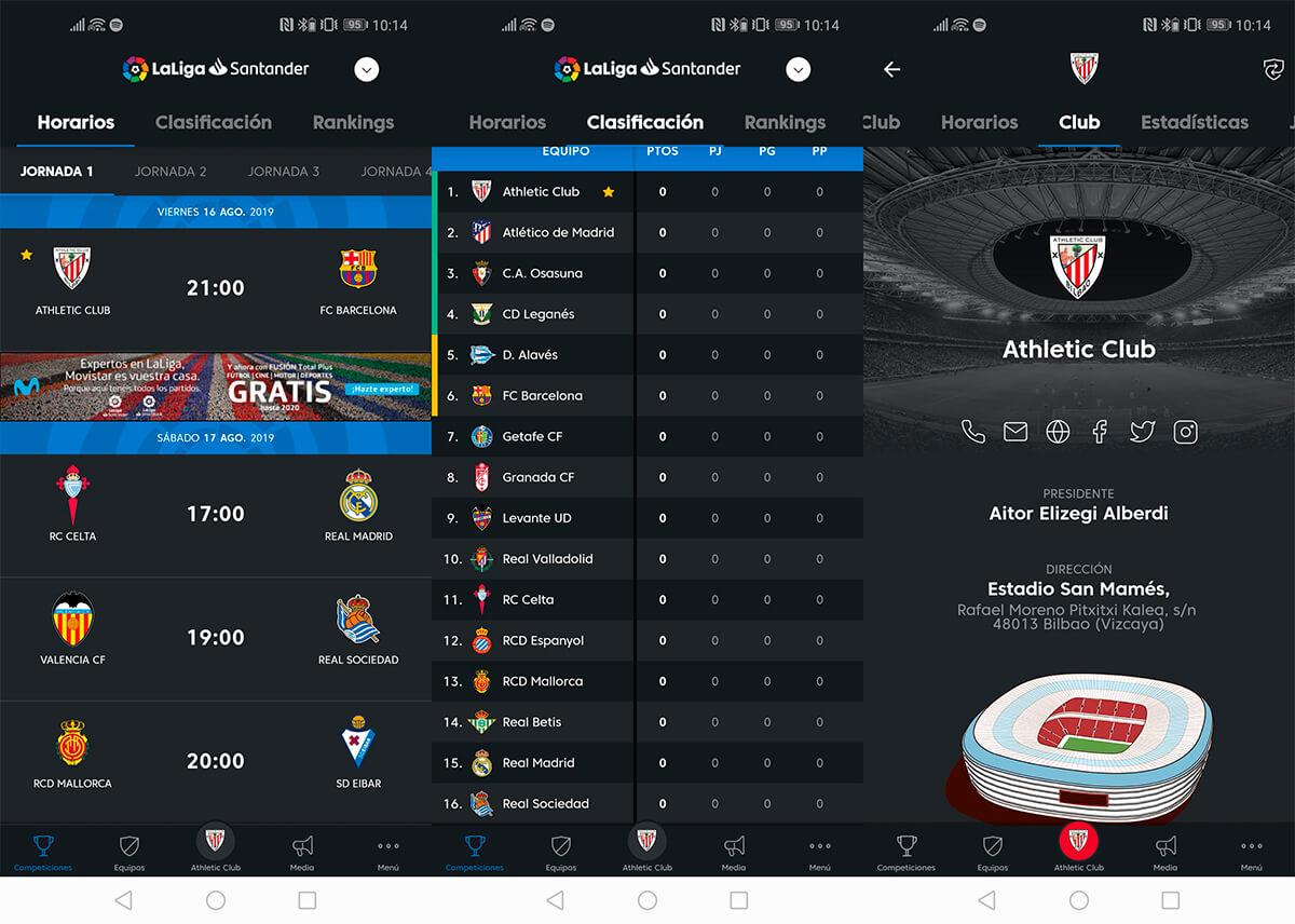 La Liga resmi uygulaması