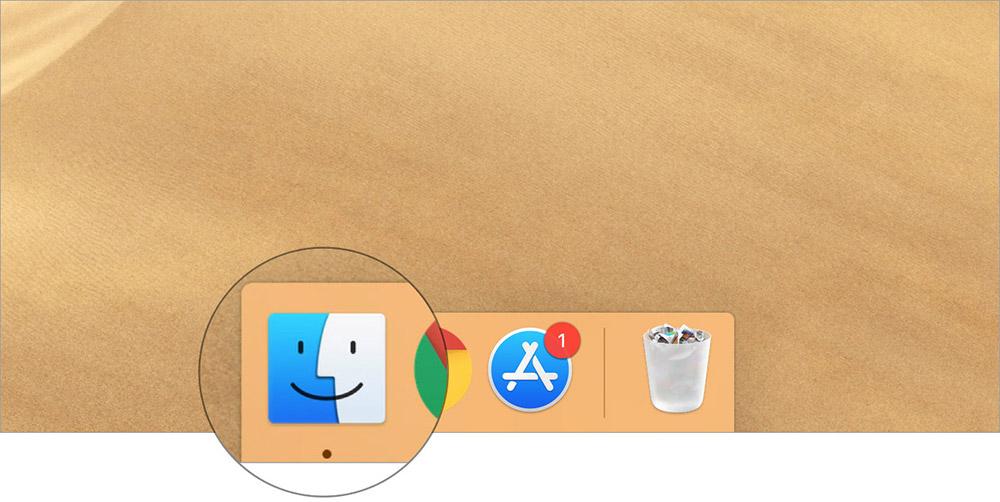 Mac'inizde Finder'ı Başlatın