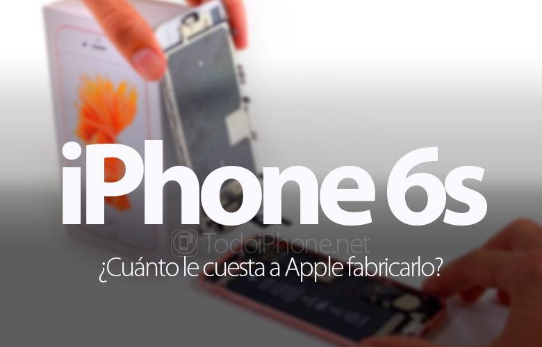 Maliyeti ne kadar Apple bir iPhone 6s yapmak? 1