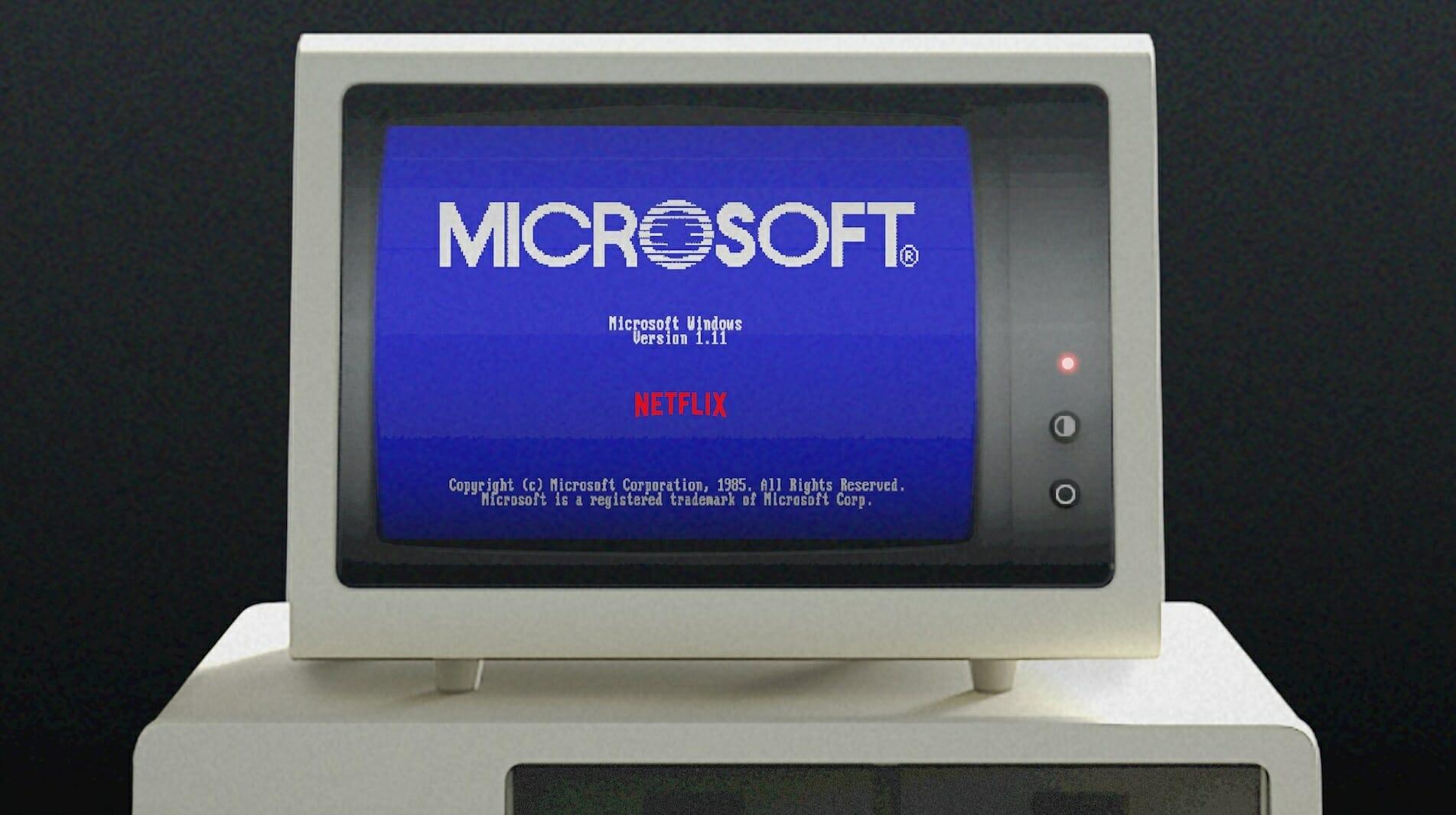Microsoft, nostaljisini yeniden yaşıyor Windows 1.0'da ran Stranger Things' uygulamasıyla 1