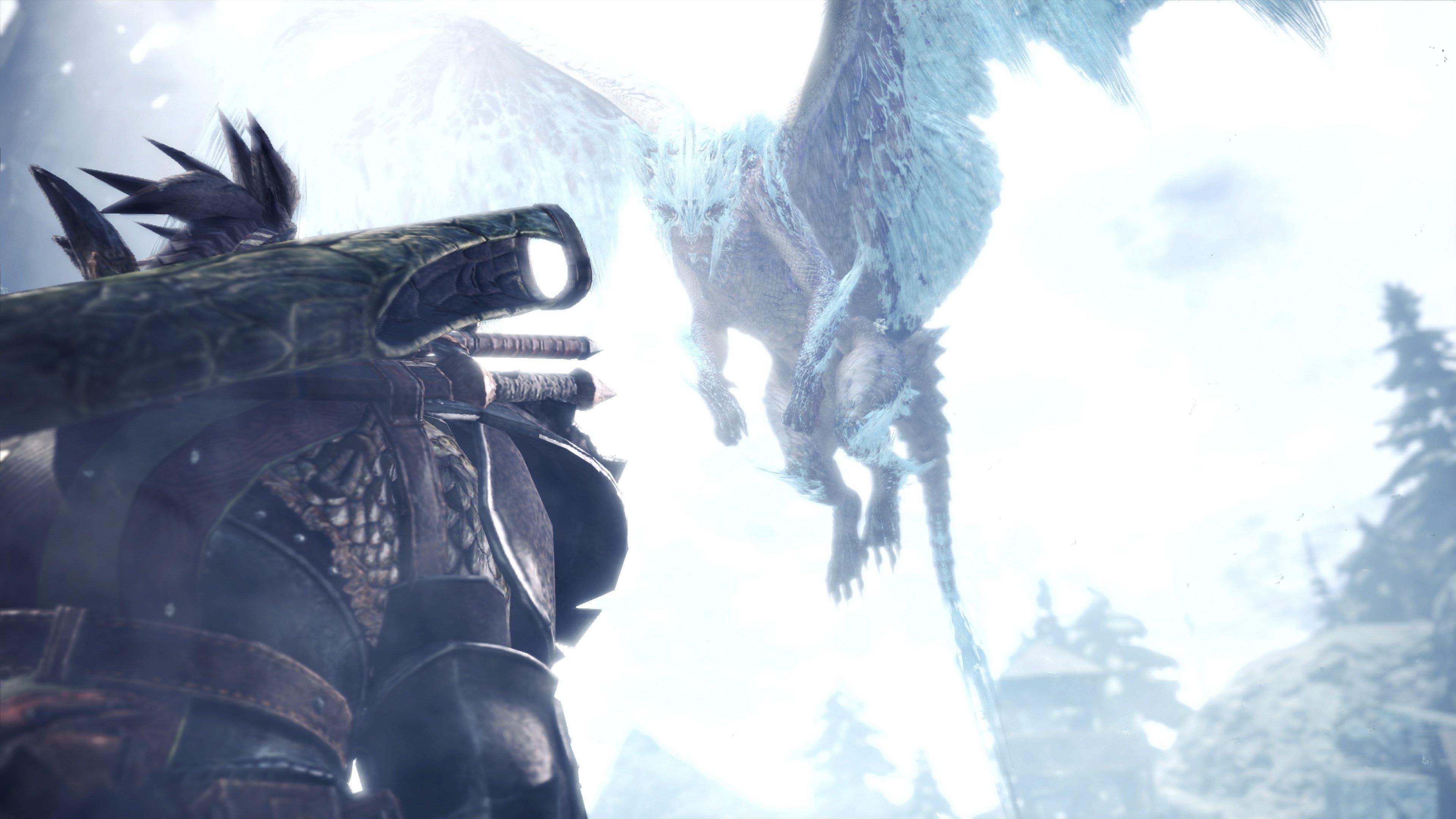 Monster Hunter World: Iceborne trailer yeni ejderhaları piyasaya sürdü 1