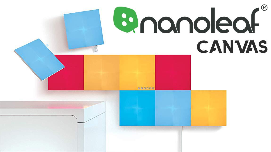 Nanoleaf Tuval, akıllı aydınlatma ve tasarım | yorumu 1