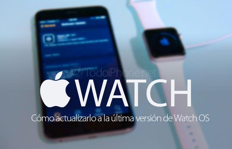 Nasıl güncellenir Apple Watch Watch OS'nin en son sürümüne 1