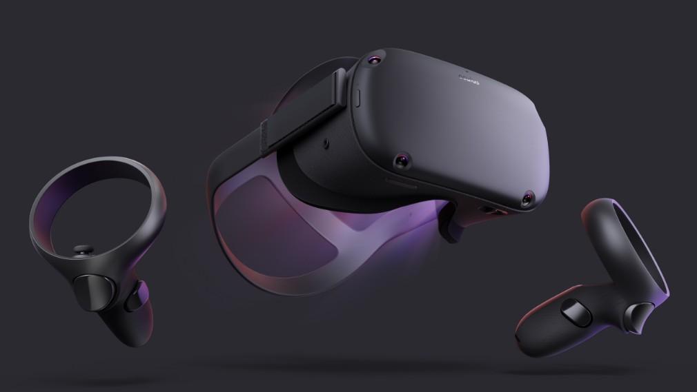 Oculus Quest image - Cihazın önü