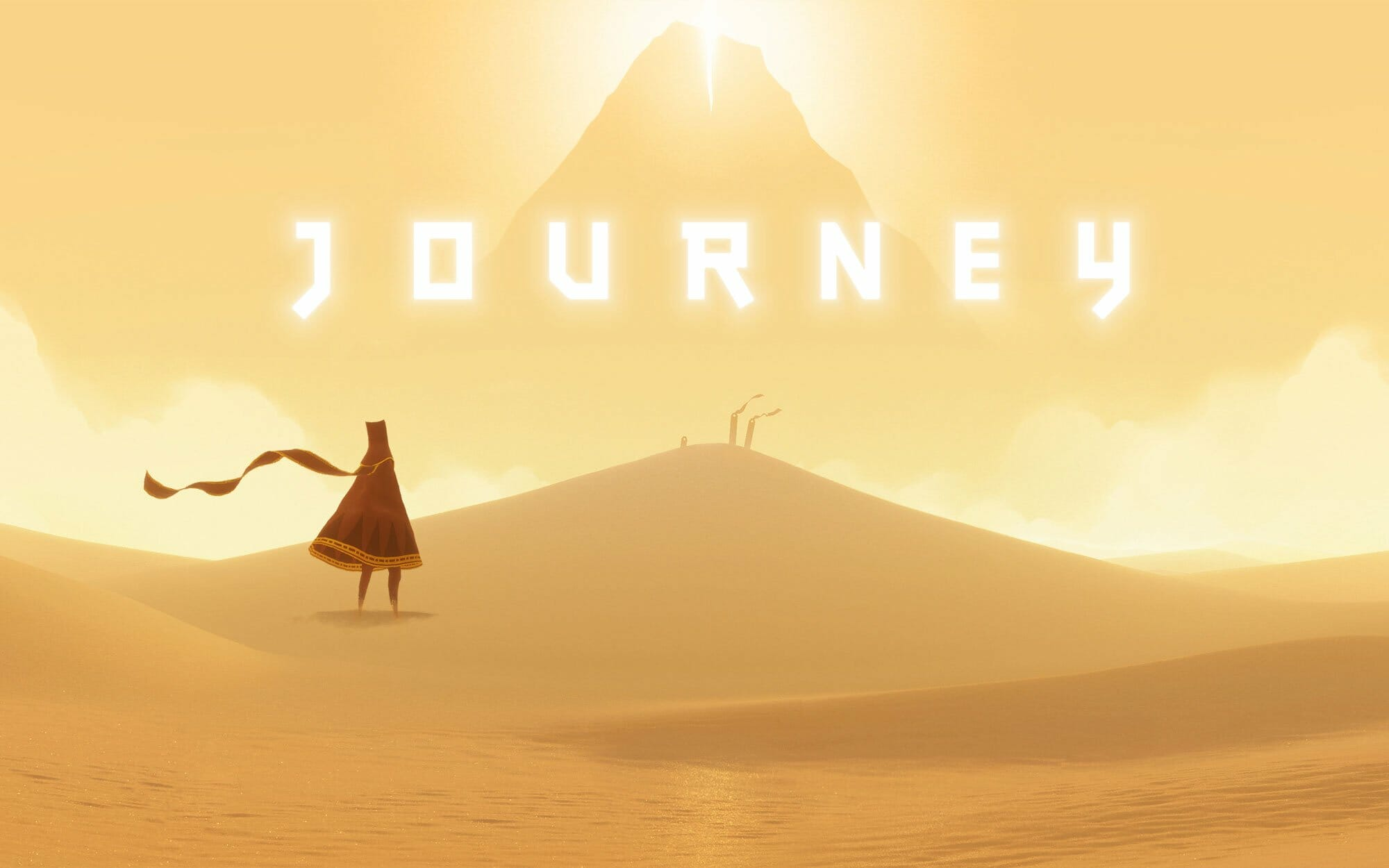 Ödüllü PlayStation oyunu 'Journey' iOS'ta mevcut 1
