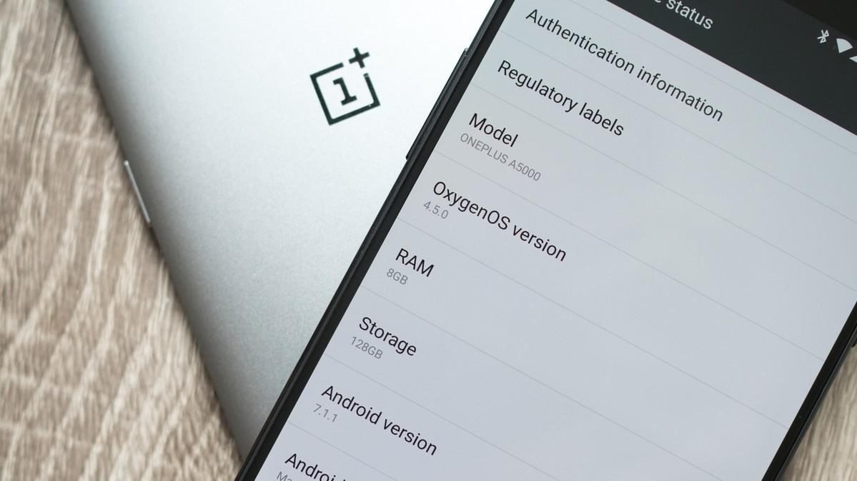 OnePlus 5: Jöle ters çevrilmiş ekranın bir sonucunu kaydırıyor mu? 1