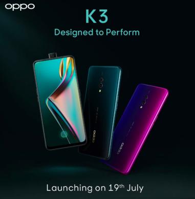 Oppo K3 India, 19 Temmuz İçin Resmen Açıklandı 1