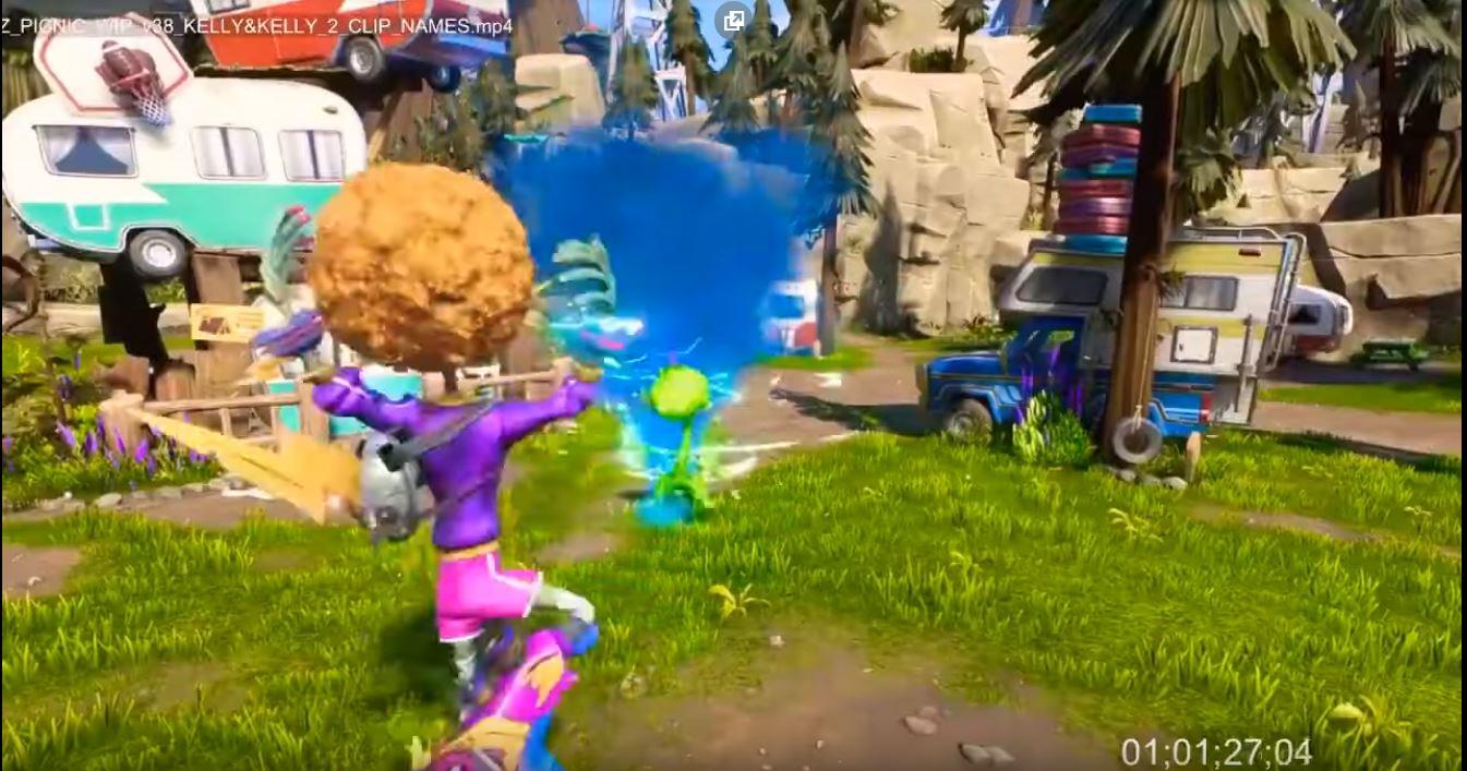 Plants Vs Zombies'in videosu: Neighborville'deki Battle için oyunu oynandı 1