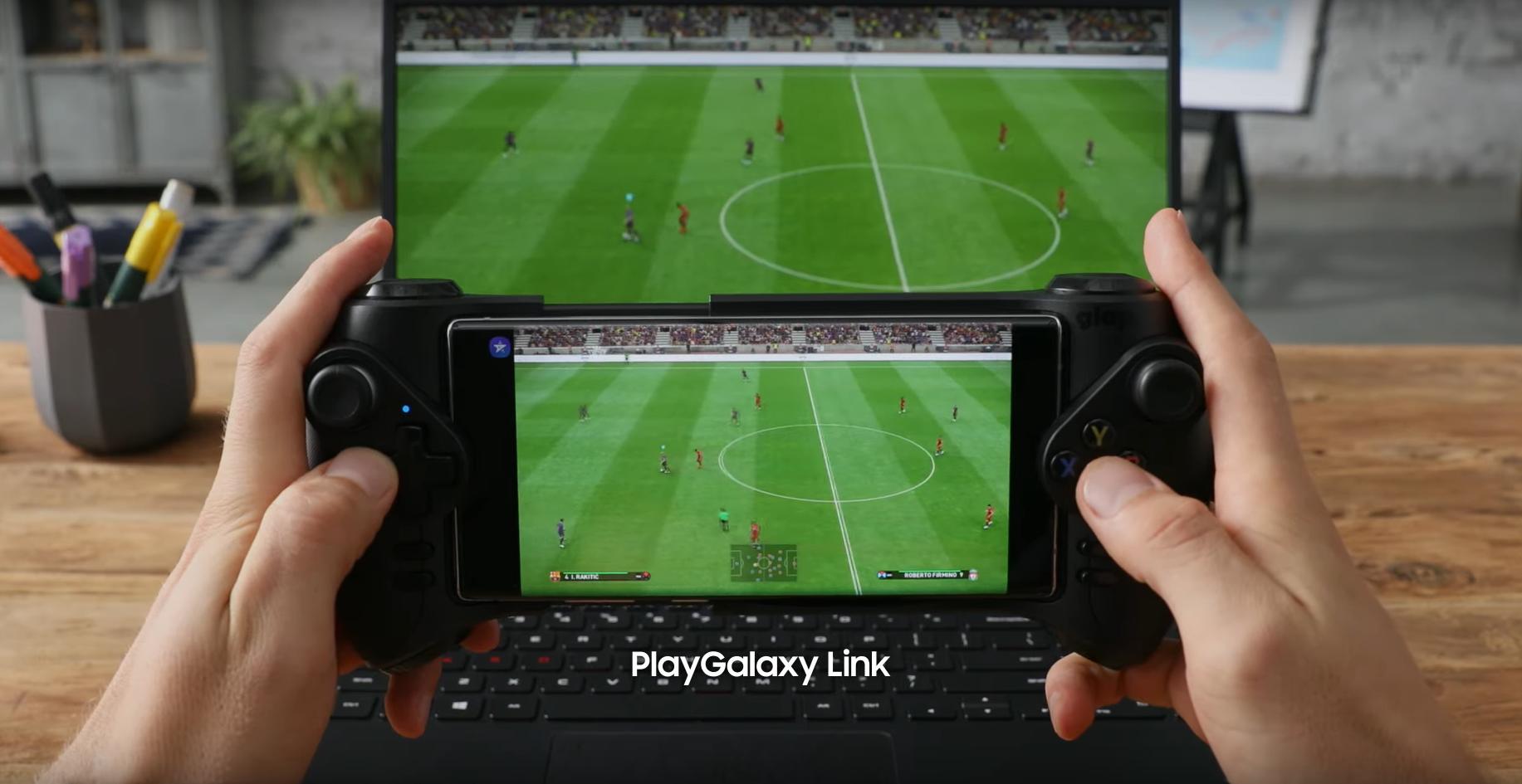 ▷ ▷ PlayGalaxy Link, Samsung Note10'unuzdaki PC oyunlarını kullanmanıza izin verir. »✅ 2
